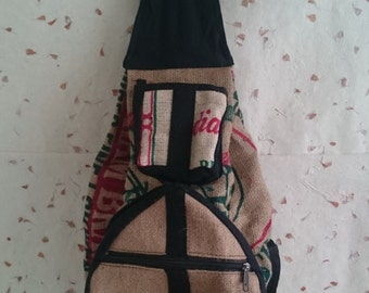 Foldable backpack/Hobo backpack/Hippie backpack/Fashion backpack