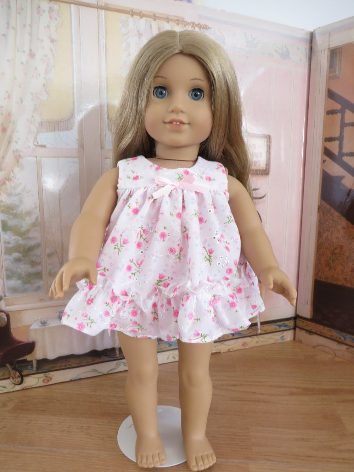 18 Inch Doll Clothes Baby Doll Pajama Set