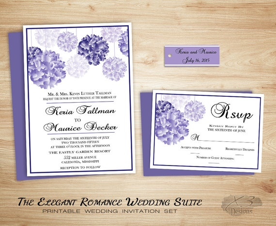 Backyard Wedding Invitation: Rustic Country Wedding Invitation Backyard Wedding