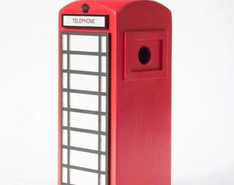 Handmade Wooden Nesting box - Telephone Box Design