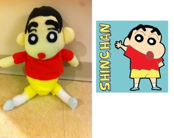 Shin Chan cartoon custom made plush