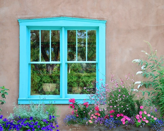 Window Frame Wall Art window photo art southwestern wall art santa fe art print