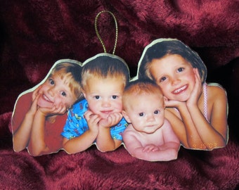 Personalized Christmas Ornaments, Personalized Photo Ornaments, Custom Tree Ornaments, Christmas Ornaments, Holiday Ornaments, Photo Ornamen