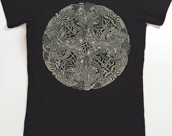 Book of Kells Shirt - Women's Celtic Shirt - Graphic Tee for Women
