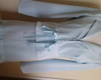 70's suit, M, light blue suit, spring suit, summer suit, Easter suit, cropped suit, blue suit, vintage 70's suit