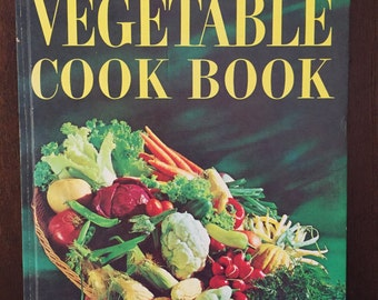 Vegetable Cook Book, Better Homes & Gardens, vintage cookbook