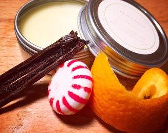 Vanilla, Peppermint, and Citrus Beard Balm