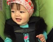 Reversible baby head wraps