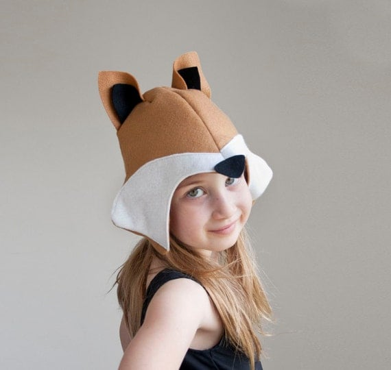Fox PATTERN DIY costume mask