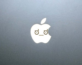 Look of Disapproval Macbook Decal / MEME Macbook Pro Sticker