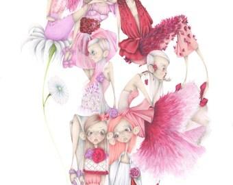 "Art print ""The Rite of Spring"""