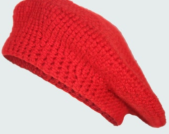 Adult Stylish Crochet Beret