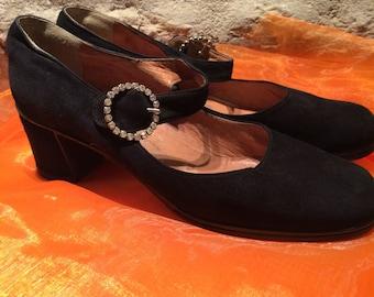 Flapper styl vintage shoes