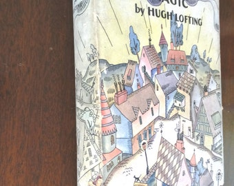 The Twilight of Magic, by Hugh Lofting, Illustrated by Lois Lenski, Hardcover with Dust Jacket 1930 FIRST EDITION