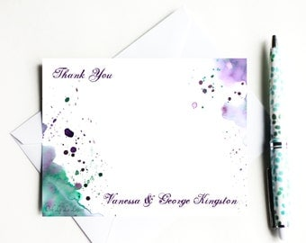 Thank You Cards Stationery Cards Personalized Stationery Thank You Note Cards Bridal Stationery Wedding Stationery Set Wedding Stationary