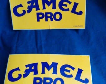 Vintage Camel Decals!