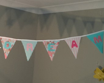 Sweet Dreams Baby Bunting by Beespoke Bunting