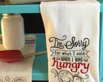 Tea Towel - Hungry