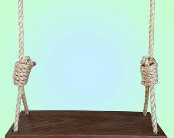 Tree swing hanging kit two straps Wood tree swing and hanging kit