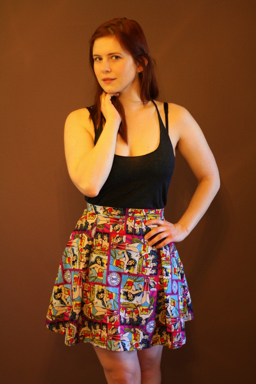 Wonder Woman Skirt By OddModBoutique On Etsy