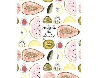 Zine - Salade de fruits - 12 pages