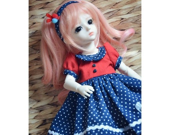 Bjd Sweetie dress for 1/6 yosd Doll Clothes