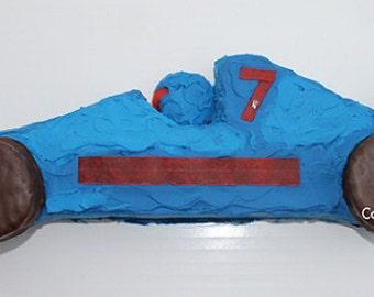 Race Car Cut-Up Cake Pattern