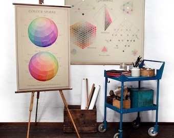 Double Colour Sphere no.1 wall hanging