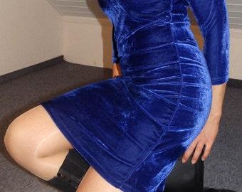 dark blue velvet dress blue velvet short mini dress