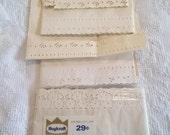 Vintage Victorian Lace Shelf Paper OLD NEW STOCK Gorgeous Farmhouse Roylcraft