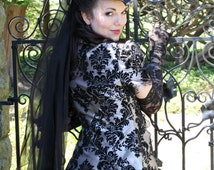 Gothic Temptation Custom Made Victorian Bridal Gown
