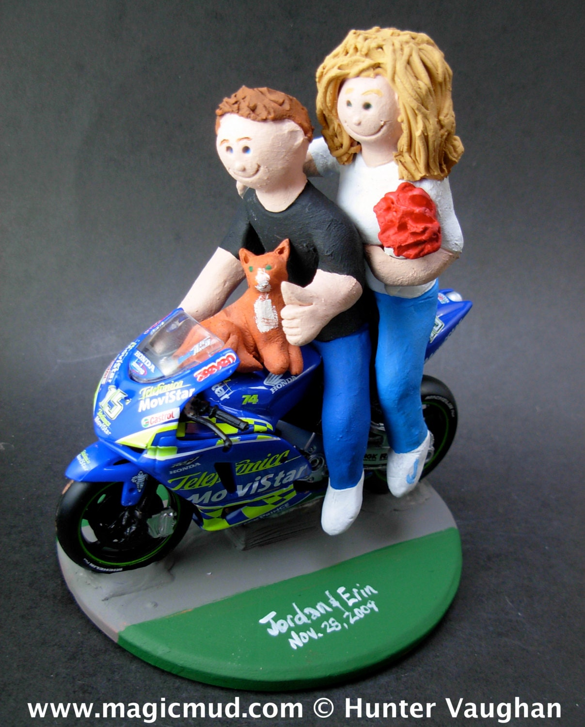 motorcycle cake topper sportbike motorcycle wedding cake topper crotch rocket 6052
