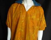 SALE! Spirit World Poncho© in Vintage Flowers, Menswear, Festival Clothing, Kaftan