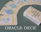 "ORACLE DECK + HANDBOOK ""The Golden Moth Illumination Deck"" // tarot deck / tarot cards / tarot card deck / pagan cards / pagan tarot"