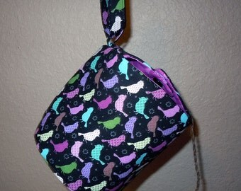 Yarn Owl yarn holder and/or sock project bag (medium size)