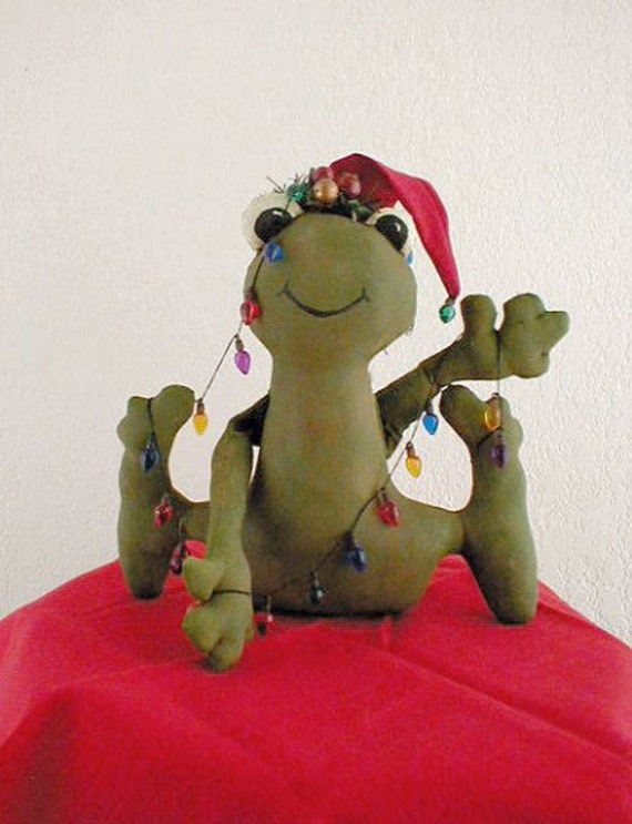 The Christmas Frog PDF E Pattern Instant Download