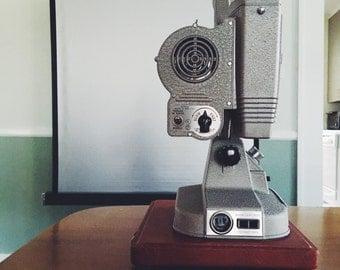 Vintage 8mm Film Projector by Keystone
