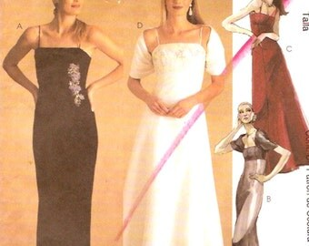 Brides wedding dress capelet wrap Evening wear Sewing Pattern McCalls 2861 Sz 10 to 14 UNCUT