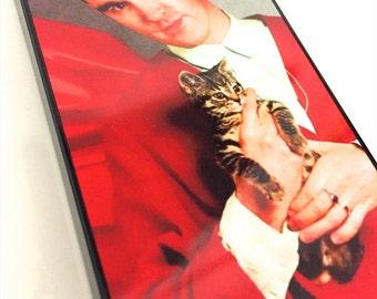 Morrissey Kitten iphone Hard Case