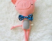 Ross the Pig, softie plush doll toy