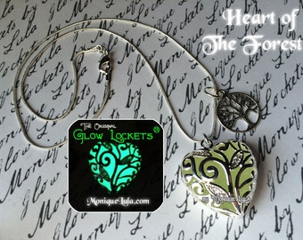 Heart of the Forest Glow in the Dark Necklace
