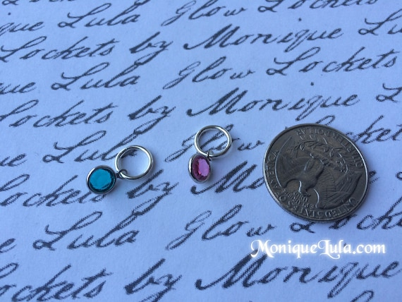 Genuine Swarovski Birth Stone Crystal Charms