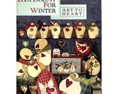 Easy Does It For Winter - Art To Heart #525B Snowman Quilting / Sewing Patterns Nancy Halvorsen