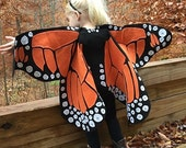 Custom Rainbow Monarch Butterfly Wings for Jenn