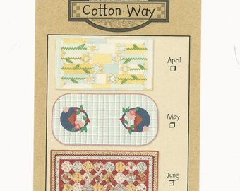 June Table Runner of the month - Cotton Way ~ New