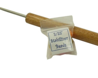"""One Paper Bead Roller with 3/32"""" Split Winding Pin"""