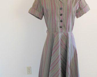 Ramar for Richard Shops • vintage 1940s dress • 40s day dress