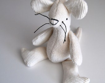 Eco Organic Natural Mouse Rat Doll Stuffed Animal Toy