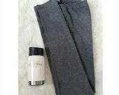 "Womens Leggings Stretch Pants Full Length Premium Basic 31"" Made in USA"