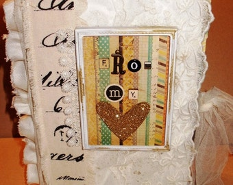 Altered Book Art Journal